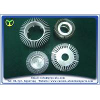 Buy cheap Round Aluminium 6063 Heat Sink Extrusion Profiles Customize from Wholesalers