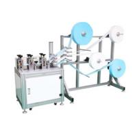 China Semi Automatic KN95 Face Mask Making Machine For Medical Supplies Manufacturing Plant factory