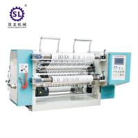 China 100-200 m/min Speed Tension Control Auto Slitting Machine  for Paper Straw factory