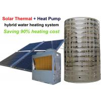 Buy cheap Solar Thermal And Air Heat Pump Water Heater System Coplent Scroll Compressor from wholesalers