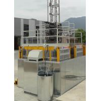 Buy cheap VFD Yellow Rack And Pinion Hoist Engine Power 2x15Kw For Construction Man / Materials from Wholesalers
