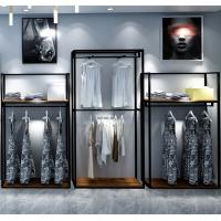 Buy cheap Simple Clothes Shop Display Showcase MQ-027 Strong Structure Easy Install from Wholesalers