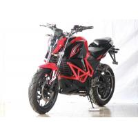 Buy cheap Red Lightweight Electric Motorbike Road Legal 1760*750*1060 Mm Full Size from wholesalers
