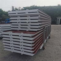 China insulated prefabricated sandwich panels 75mm thickness for construction buildings factory