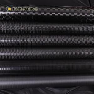 China Sports Fishing Flip Lock 3 Inch 3K 12K Carbon Fiber Tubes factory