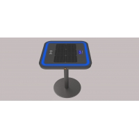 Buy cheap USB 6.7V 20Ah LiFePO4 Outdoor Solar Charging Table from wholesalers