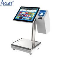China Touch Screen POS Scale,PC POS Scale,Touch Scale,Retail Scale,Electronic Balance on sale