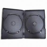 Buy cheap 14mm Black Automatic Packing Case, Made of Recycled PP, Suitable for Double DVDs from Wholesalers