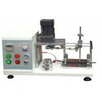 China Wire And Cable Scratch Resistance Testing Machine Contains A Device For Scraping The Insulating Surface on sale