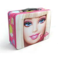 China trendy rectangular lunch tin box for cosmetic factory