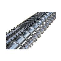 China Haitian Extruder Screw Customize Size D8mm ~ D350mm  Coated Layer on sale