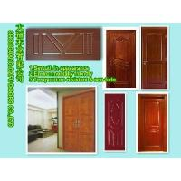 China Melamine HDF Veneer Door Skin on sale
