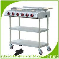 Buy cheap Portable stainless steel gas barbecue grill from Wholesalers