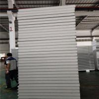 China 0.326mm plosytyrene sandwich panel 5000x1150x50mm for worker camp factory