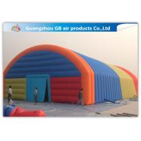 China Giant Inflatable Party Tent Inflatable Structure Multi Color , 18*10m factory