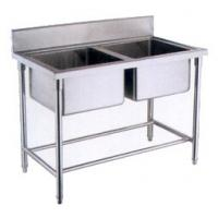 Buy cheap OEM Deep Double sink stainless steel wash basin for kitchen from wholesalers