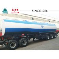 Buy cheap Safe Tri Axle Fuel Tanker Trailer For Sale For Petroleum Pump from wholesalers