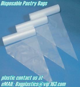 China Baking packs, pastry, Cake Cream, Decorating, Pastry bags, piping, pastry disposable bags factory
