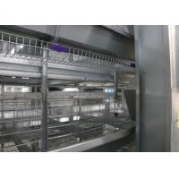 China Hot Galvanized Full Automatic Poultry Feeder System Anti - Perching factory