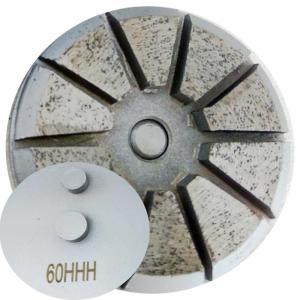 China Two Pin backed diamond grinding pucks factory