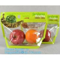China Micro Perforated Plastic Bag For Vegetable bread fruit, bopp fresh vegetable packaging bag, Clear Fresh Vegetables Packa factory