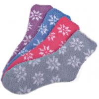Buy cheap Flower  pattern airplus aloe infused socks shea butter fragrance Feature from Wholesalers