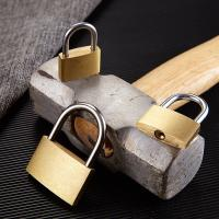 Buy cheap Anti - Rust Brass Combination Padlock Waterproof For Cabinet Doors / Drawers from Wholesalers
