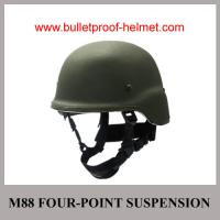 Buy cheap Wholesale Cheap China Army Green M88 Four Point Suspension Bulletproof Helmet from Wholesalers