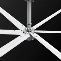 China 20feet Brushless DC Motor Industrial Ceiling Fans Gearless PMSM Big Air Ventilation 6m factory
