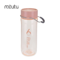 China Simple Modern PC PP 450ml Portable Water Bottles factory