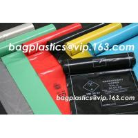 China Pedal bin liner, seal bags, c-fold bags, bags on roll, roll bags, produce roll, HDPE sacks factory