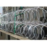 Buy cheap Hot Dipped Galvanized Razor Blade Barbed Wire from wholesalers