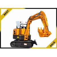 Buy cheap 800kg Crawler Hydraulic Excavator 340mm Bucket Width , Road Digging Machine For Farm Use from Wholesalers