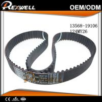 China 124 Teeth Automotive Engine Valve Timing Belt For TOYOTA COROLLA AE111 4E 13568-19106 124MY26 on sale