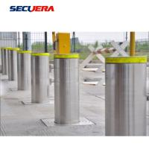 China Reflective Hydraulic Road Blocker SS304 Fixed Bollard 10-15 Years Service Life factory