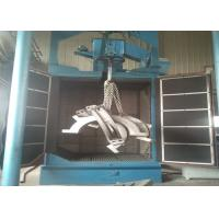Buy cheap Steel Parts Hanger Type Shot Blasting Machine Descaling Function Customized Design from Wholesalers