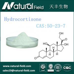 China Pharmaceutical Grade Hydrocortisone Powder 99% CAS:50-23-7 factory