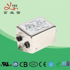 China Medical Equipment AC Power Supply Filter 6A 120V 250V Single Phase factory