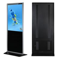 China 43 Floor Standing Lcd Advertising Display Media Player Support Lan / Wlan Network on sale