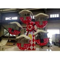 China Christmas Topic Ferris Wheel Kiddie Ride , Mini Amusement Park Rides Games factory