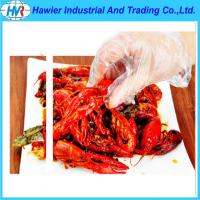 Quality pe food disposable gloves wholesale