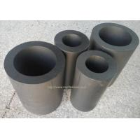 China Graphite filled ptfe tube black te-flon ptfe tube on sale