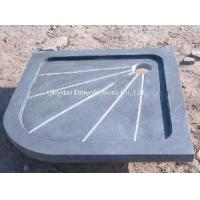 Buy cheap Qindao Blue Limestone Shower Tray from Wholesalers
