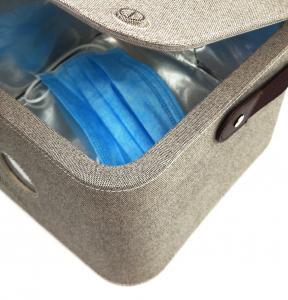 China Gray Ozone Uv Sterilizer Box / Ultraviolet Light  Bag Sanitizer Fast Disinfection on sale