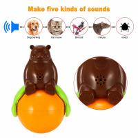 China 4.2v Cute Pet Toys Sound And Light Ball Lr44 Battery Five Kinds Of Sounds factory