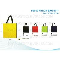 China custom color bag eco friendly recyclable grocery non woven bag, Lamination Non Woven Tote Bag Fabric Shopper Grocery Bag factory