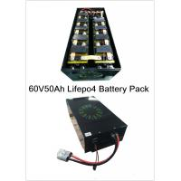 China 64V50AH Lithium Ion Car Battery 5 Parallel 20 Series Configuration For Electric Tricycle factory