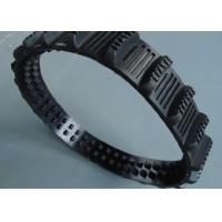 China 0.5kg Mini Rubber Tracks Width 50mm Pitch 20mm Links 46 Less Vibration factory