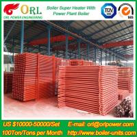 China 100M CFB Boiler Superheater Petrochemical Natural Gas Industry Boiler Spare Part on sale