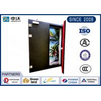 Flexible Metal Insulated Fire Door With Two Leaf Strong Temperature Resistant